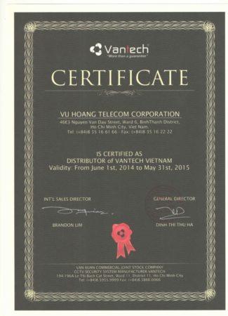 Phân phối camera Vantech giá tốt toàn quốc