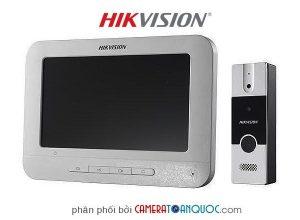 Bộ chuông cửa màn hình Analog DS-KIS202