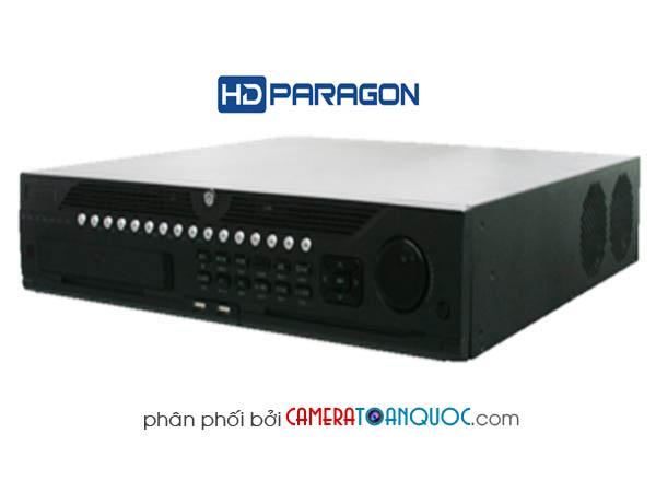 Đầu ghi hình HD PARAGON hỗn hợp Hybrid DVR HDS-H9008IP-TVI