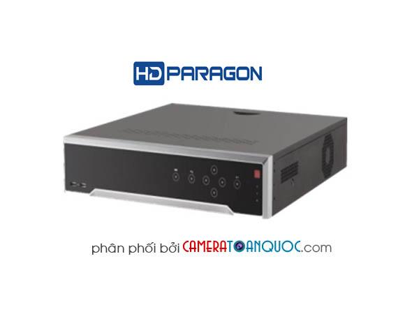 Đầu ghi hình HD PARAGON IP ULTRA HD 4K 16 kênh 16 cổng POE HDS-N7716I-4K/P