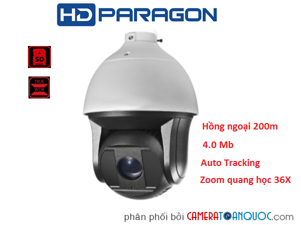 Camera Speed Dome HDS-PT8438IS-A6M