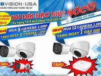 Khuyến mãi sốc camera Kbvision – Usa, Secutech 2017