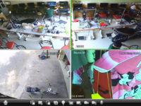 thi công camera chống trộm cho tiệm net