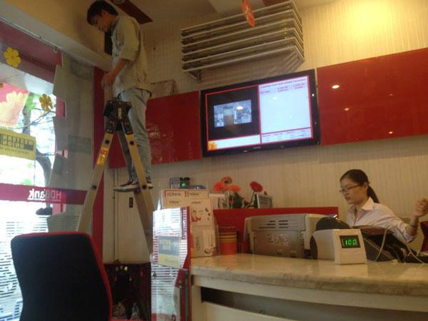 thi công camera quan sát cho ngân hàng giá rẻ