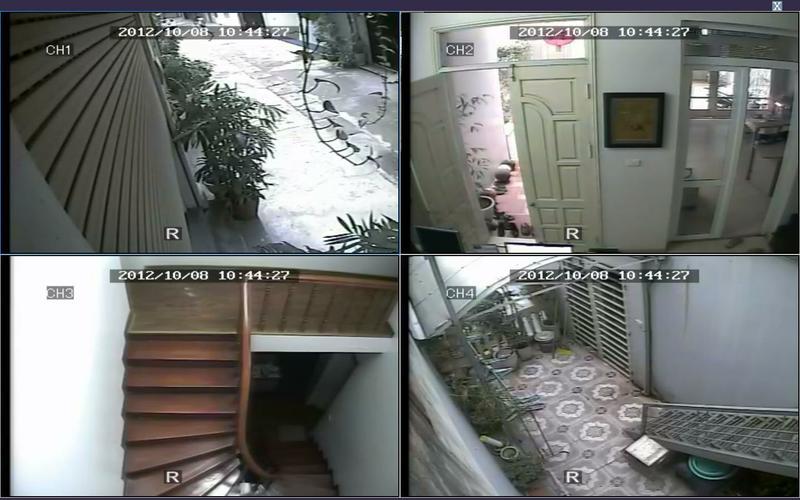 lắp đặt camera giám sát cho công trình
