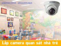 đơn vị lắp đặt camera cho nhà trẻ