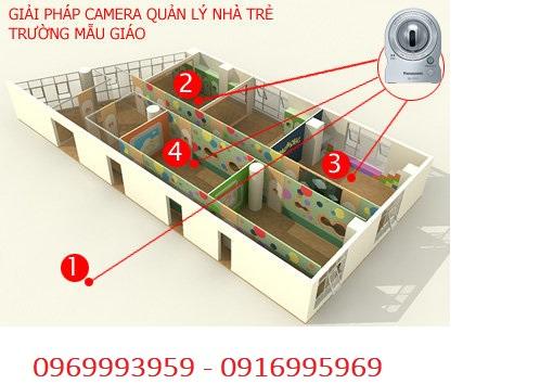 công ty lắp đặt camera cho nhà trẻ