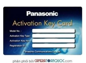 ACTIVATION KEY TỔNG ĐÀI PANASONIC