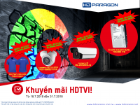 Khuyến mãi camera HDPARAGON 7.2018