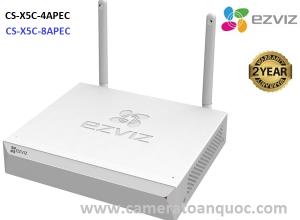 Đầu ghi hình wifi Ezviz 4 kênh CS-X5C-4APEC