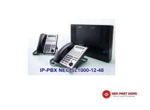 Tổng Đài Điện Thoại IP PBX NEC SL1000 12 48
