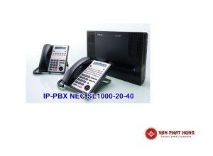 Tổng Đài Điện Thoại IP PBX NEC SL1000 20 40