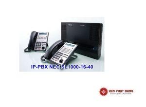 Tổng Đài Điện Thoại IP PBX NEC SL1000 16 40