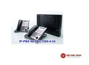 Tổng Đài Điện Thoại IP PBX NEC SL1000 4 24
