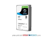 Ổ Cứng Chuyên Dụng SEAGATE SKYHAWK 6TB ST6000VX0023