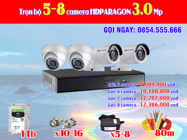 HDPARAGON 5-8 3.0 Mp